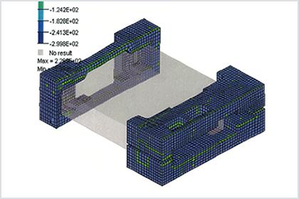 落下シミュレーションによる落下試験