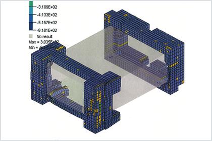未完成の画像編集機を輸出!落下シミュレーションで緩衝材・通い箱を設計。