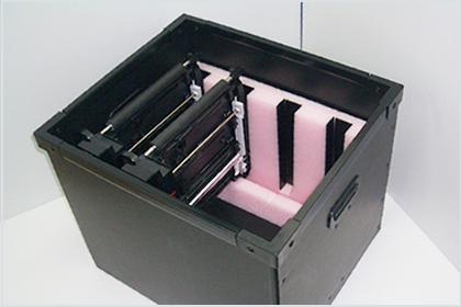 緩衝設計から外箱までの自社一貫製造