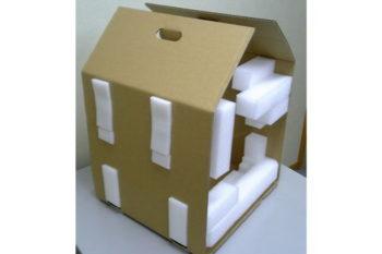 使用後に分別処理可能な通い箱